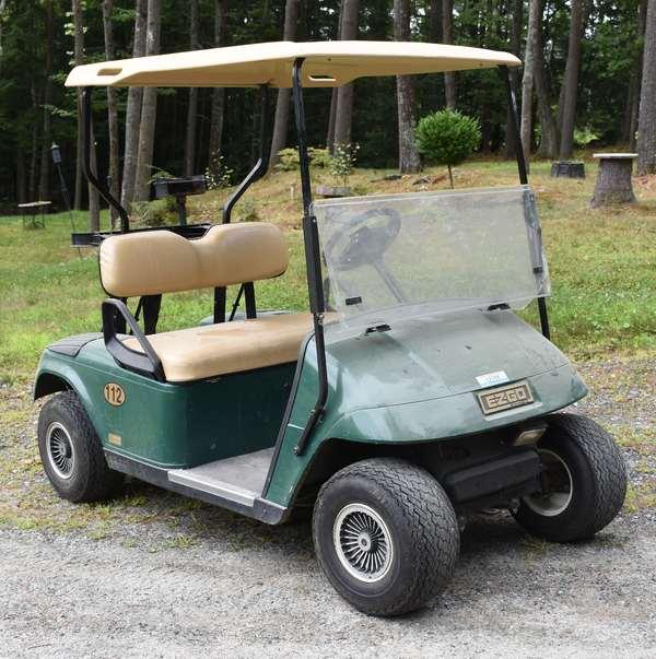 Ref 4: EZ-GO golf cart (44-572)