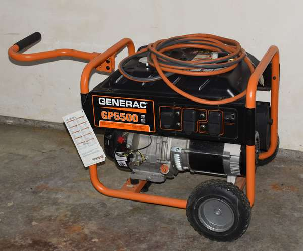 Ref 10: Generac GP 5500 generator (439-1)