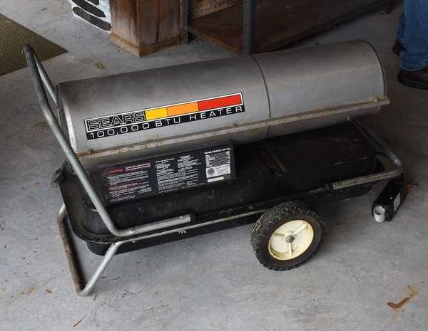 Sears 100,000 BTU space heater (439-35)