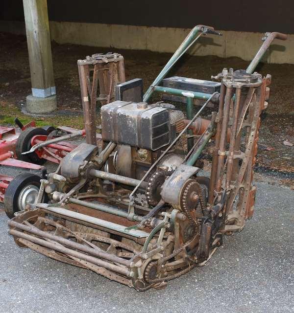 Ref 17: Antique golf course mower (69-69)