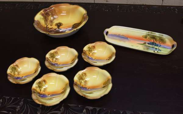 Seven pieces of Nippon (464-23)