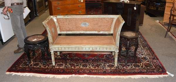 "Oriental rug, 8'11"" x 19'2"""