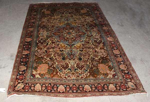 "Oriental scatter rug, 4'7"" x 7' (Ref 200)"