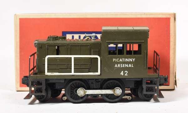Lionel No.42 Picatinny Arsenal Switcher, OB