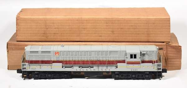 Lionel 2321 Lackawanna FM Train-master Diesel, Gray roof, OB