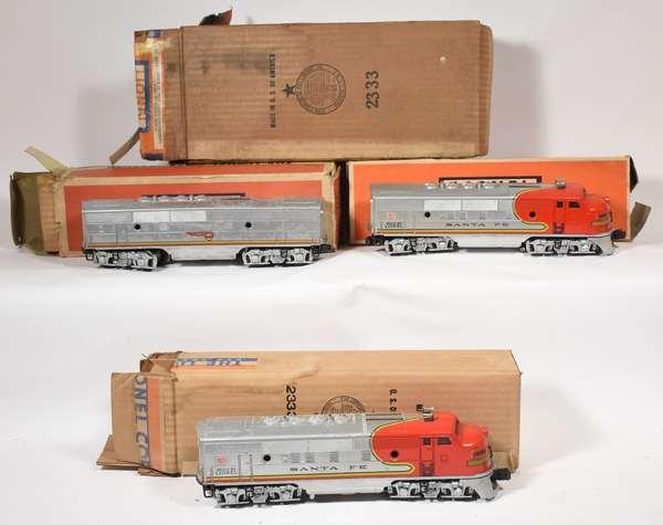 Lionel Santa Fe F3 ABA 2333, 2343C, OBS