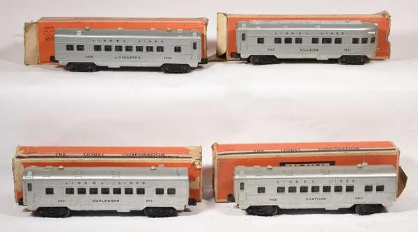 Lionel Passenger Set, 2421, 2422, 2423, 2429, OBS