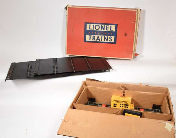 Lionel 350 Engine Transfer Table, 350-50 Transfer Table Extension, OBS