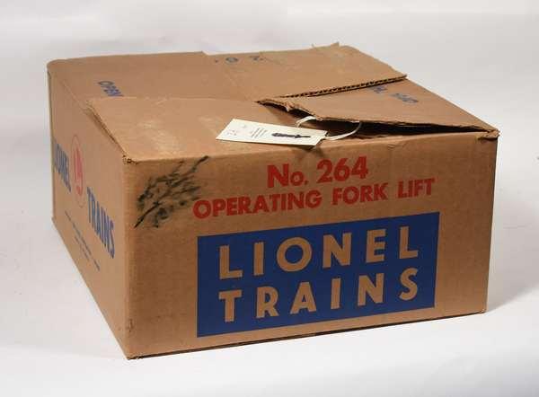 Lionel No. 264 Operating Fork Lift, OB