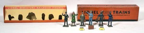 Lionel No. 550 Miniature Railroad Figures, OB
