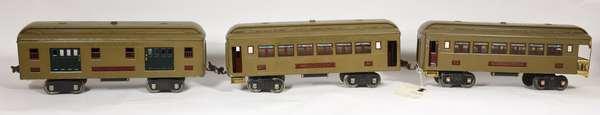 Lionel Passenger Set 309, 310,312