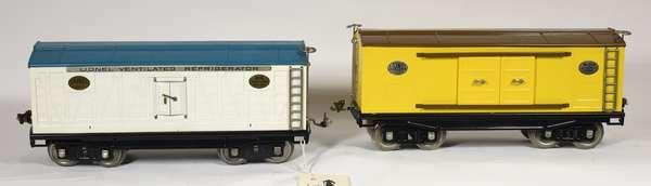 Lionel Freights 214R Refrigerator, 214 Automobile Furniture