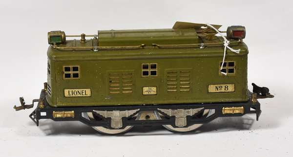 Lionel No. 8 Electric Locomotive
