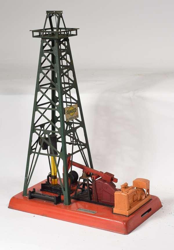 Lionel No. 455 Oil Derrick and Pumper