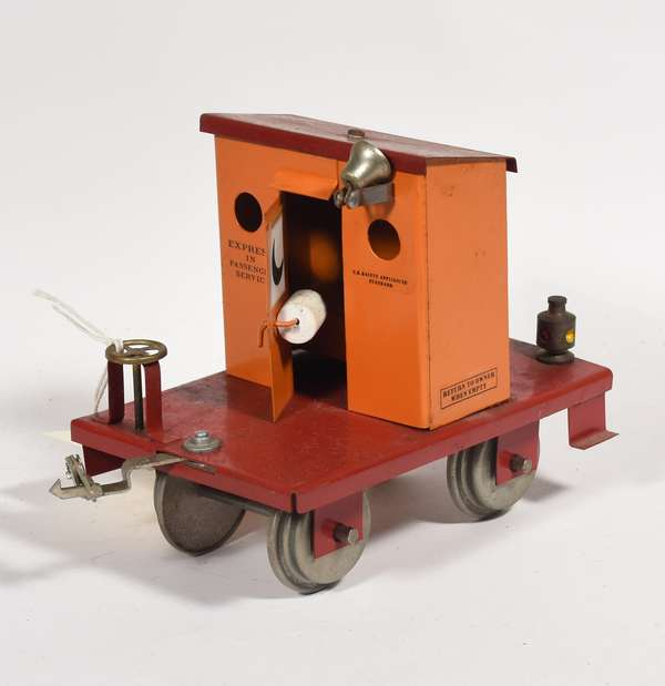 Robert's Lines Novelty Car, Outhouse on wheels, Standard