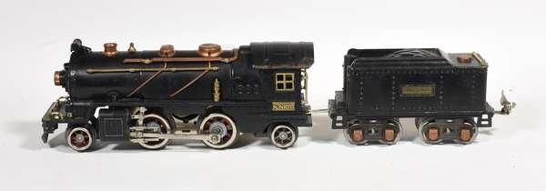 Lionel 262 2-4-2 steam loco/tender 262T