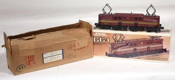 Lionel 8753 Pennsylvania GG1 Electric Locomotive, OB