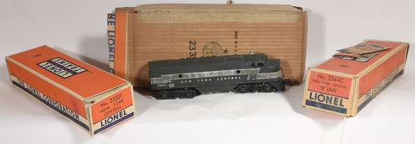 Lionel F-3 2344 ABA Diesels, OBS