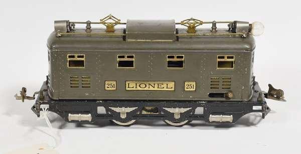 Lionel 251 Electric Loco, Gray