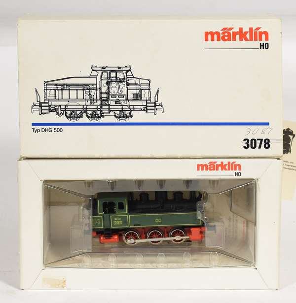 Marklin 3087 Steam Locomotive, OB