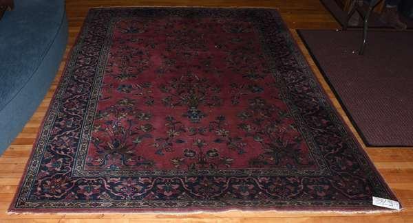 "Oriental rug, 9'2"" x 6'"