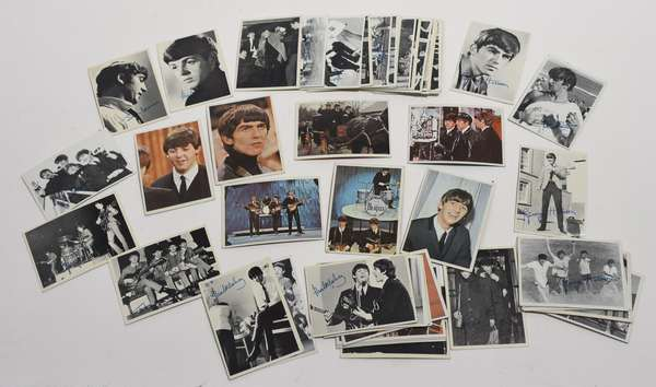 56 Beatles trade cards (96-41)