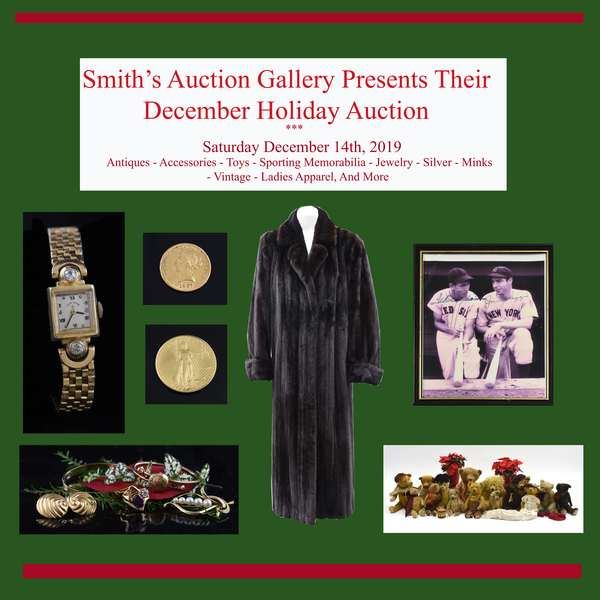 December Holiday Auction: The Unique Gift