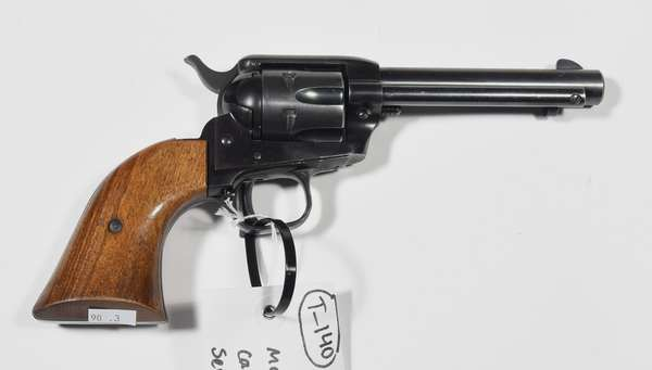 Firearm: Colt revolver, Frontier Scout, .22 cal. serial # 125603F (T-140) (90-3)