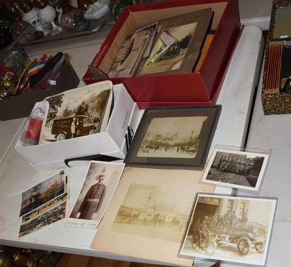 Fireman photos and postcards (23-162)