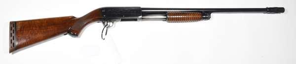 Firearm: Ithaca shotgun, 37 Feather Lite, 12ga. serial# 158359 (S6) (T-109)(90-23)