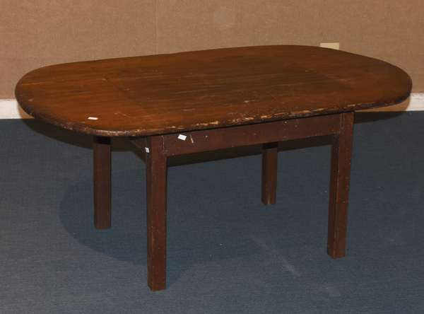 """Country tap table-coffee table size, 19""""H. x 42""""L. x 24""""W. (117-19)"""