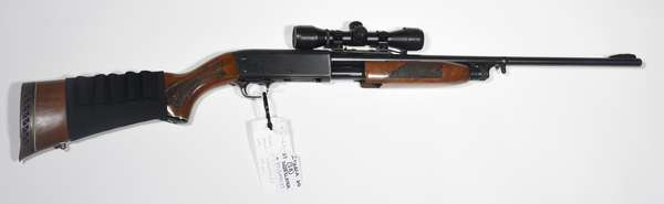 Firearm: Ithaca shotgun, 37 Deer Slayer, 20ga. serial# 371549037 (S8) (T-85) (90-25)