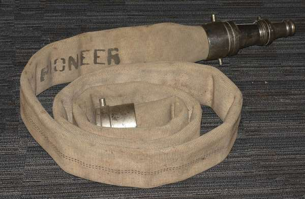 Fire hose with nozzle (23-21)