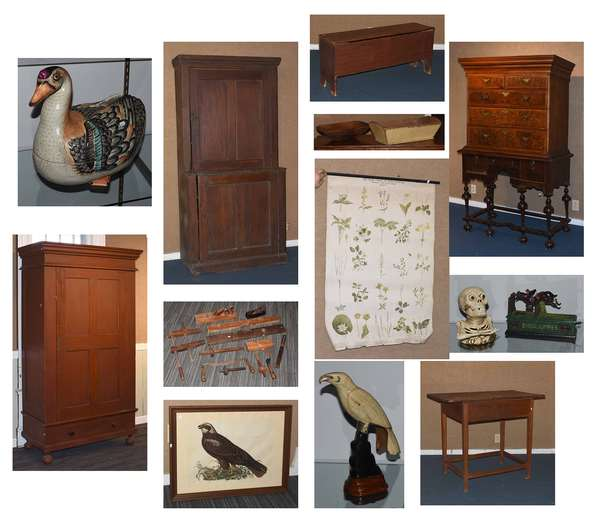 Old Fashioned Estate Auction, Featuring the Alan Thulander Estate Francestown NH