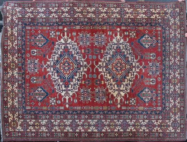 """A fine contemporary Serape rug, 10'5"""" x 11'10"""""""