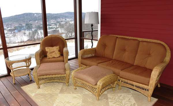 Auction of fine home furnishings from a Quechee VT mountain top home