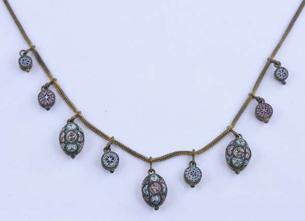 Victorian necklace (81-27)