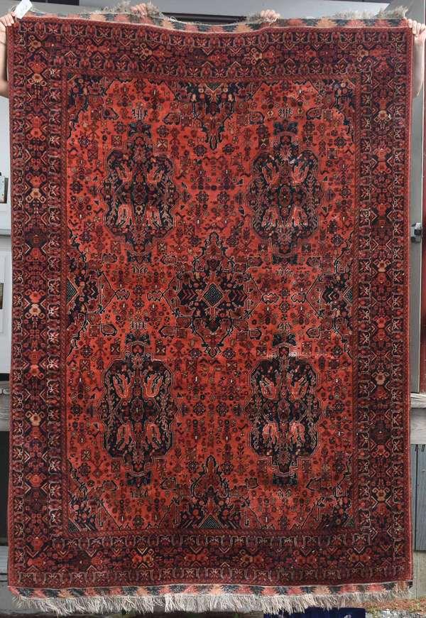 "Turkish rug, 9'3"" x 6'7"". Condition: very good."