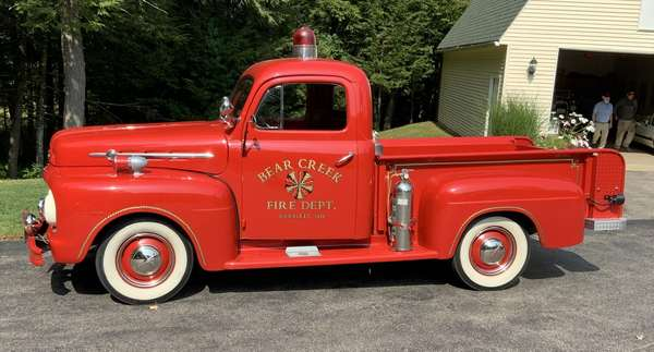On Site Vintage Car and Fire Truck Auction