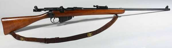 British Enfield bolt action, serial number 2258, T-159 -Condition some repairs, NICS background check required.